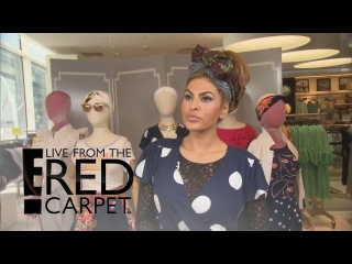 Why Eva Mendes Feels Pressure as a Mother and Designer | E! Live from the Red Carpet