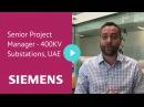 Senior Project Manager - 400KV Substations, UAE