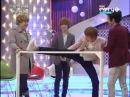 110309 SJ doing ballet exercises with sunbae [SJF_Ep14]