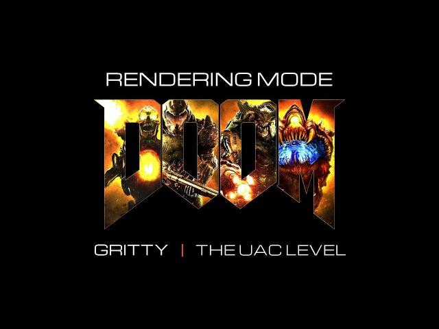 DOOM Gritty Rendering mode | 2K60fps