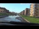После дождя затопило Чаллы Яр в Набережных Челнах. 27.06.2017.