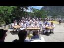 Лагерь Морской на песенном этапе 6 смены 2017 года