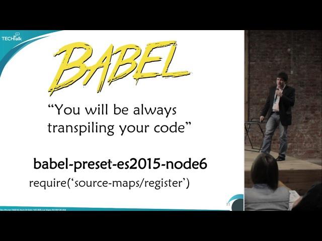 TechTalk15 - Node.js (06-Oct-2016) - Илья Климов - Буриданов осёл в NodeJS-огороде