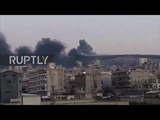Сирия: «Операция« Оливковая ветвь » Турции покидает Африн под перьями дыма