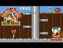 Чип и Дейл спешат на помощь игра Денди 1990 Прохождение на русском Chip and Dale Rescue Rangers NES