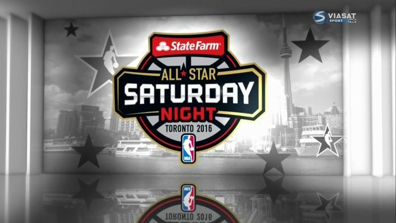 ★★★ 🏀 NBA All-Star Weekend 2016 / All-Star Saturday Night / Виасат / Viasat Sport HD RU🏀 ★★★