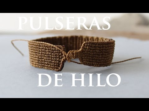 Tutorial pulseras de hilo friendships bracelets