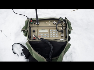 Радиосвязь с Manpack станции Barrett 940
