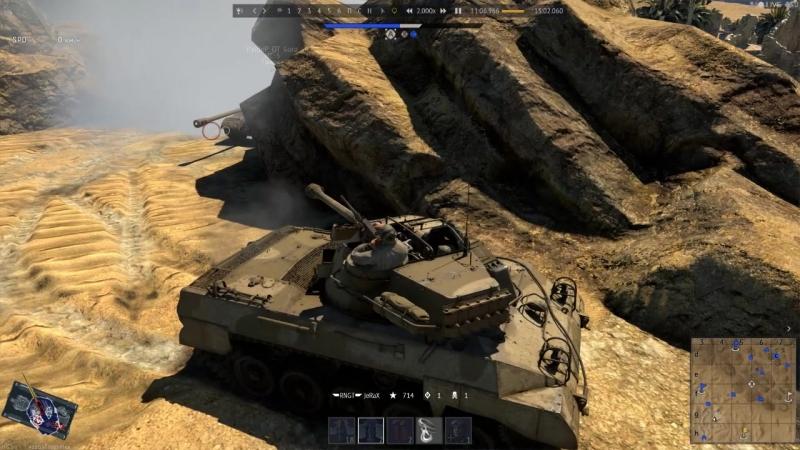 War Thunder. М18 VS ИС-3
