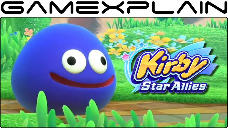 Kirby Star Allies - Gooey Gameplay Trailer