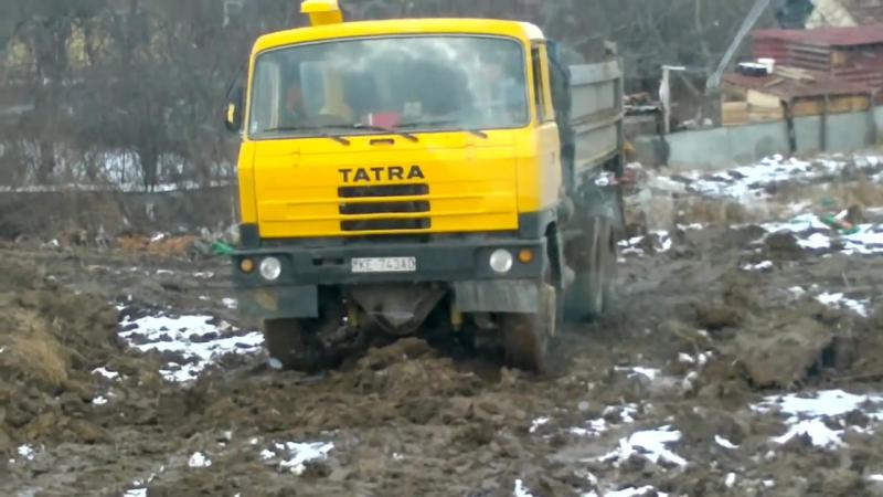 Tatra 815 S3 Татра на скользком грунте смотреть онлайн без регистрации