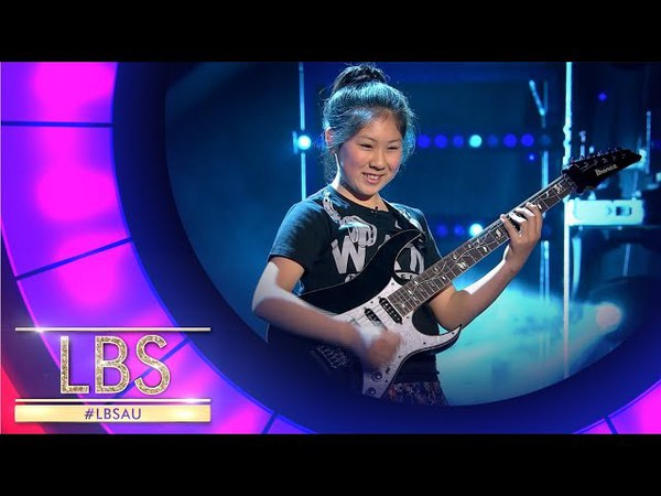 Meet Our Rock N Roll Guitarist Li-Sa-X | Little Big Shots Aus