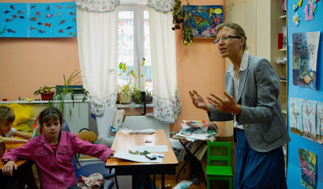 театральное занятие с Ириной Насыровой