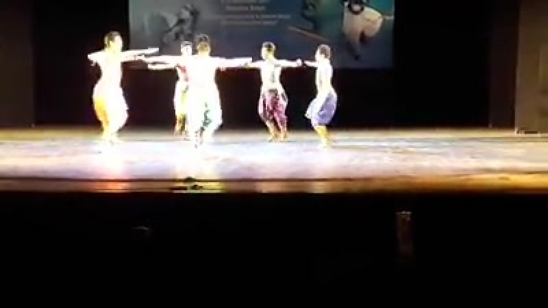 Alarippu - Bharathanatyam Choreography - Dancers - Biswapratim Bose, Raktim Chanda, Tuhin Chatterjee, Dipankar Dutta, Subhojit D