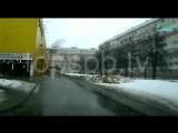 Взрыв газа в доме на проспекте Народного Ополчения попал в объектив видеорегистратора
