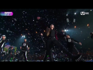 EXO - I See You(KAI Solo) + Kinetic Perf. + POWER(Remix Ver.) @ 2017 MAMA in Hong Kong
