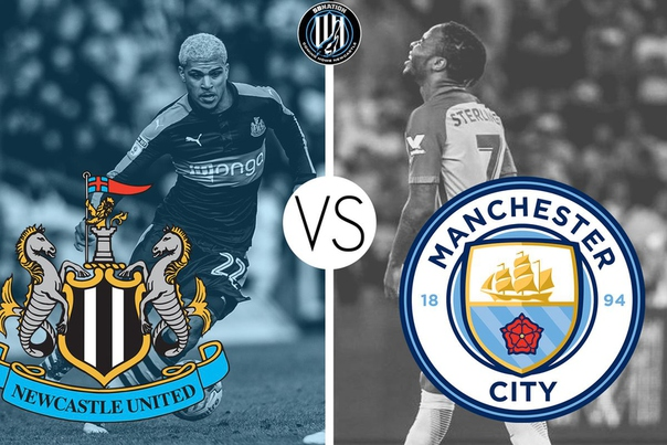 Image result for Manchester City vs Newcastle United Live pic logo
