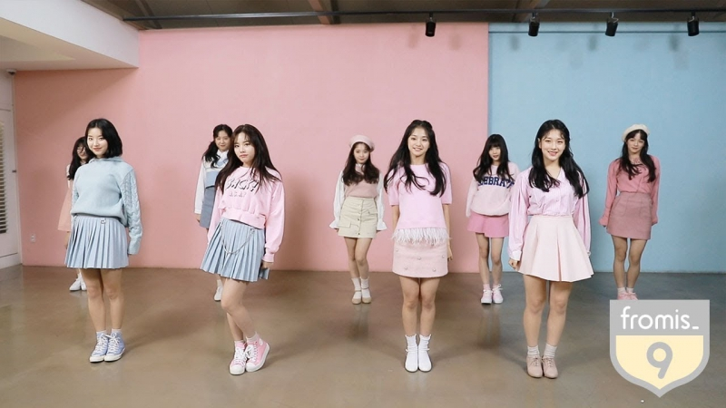 08.12.2017. fromis_9 TV ep. 6 - 2017 MAMA VCR Behind