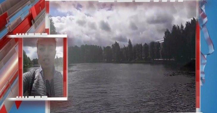 В Дядьково на пруду, в парке Судостроителей, гибнет рыба