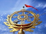 Церемония установления чакр Храма Ведического Планетария 07.02.18