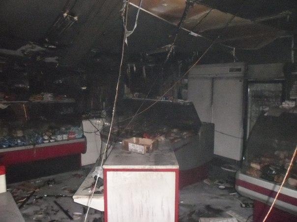 НаВоровского сгорели три павильона: первопричиной стал поджог