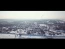 Зимний Ульяновск с высоты птичьего полёта