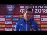 Главный тренер Чайки Виктор Булатов после матча с Ригой