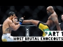 Most Brutal Knockouts in UFC History ● Part 1 ● HD
