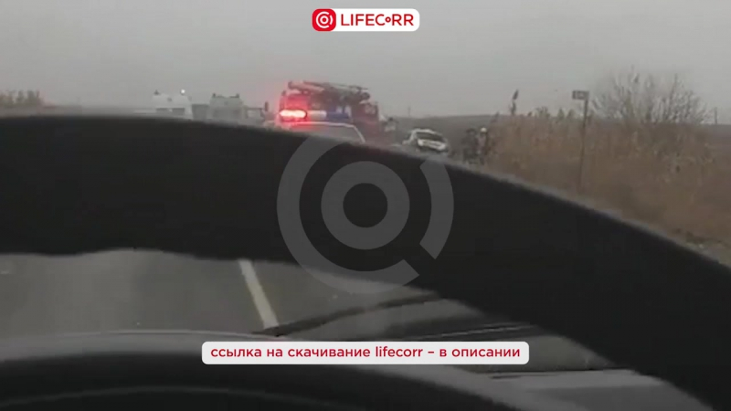 Шесть человек погибли при столкновении двух легковушек на трассе Р-215 в Астраханской области