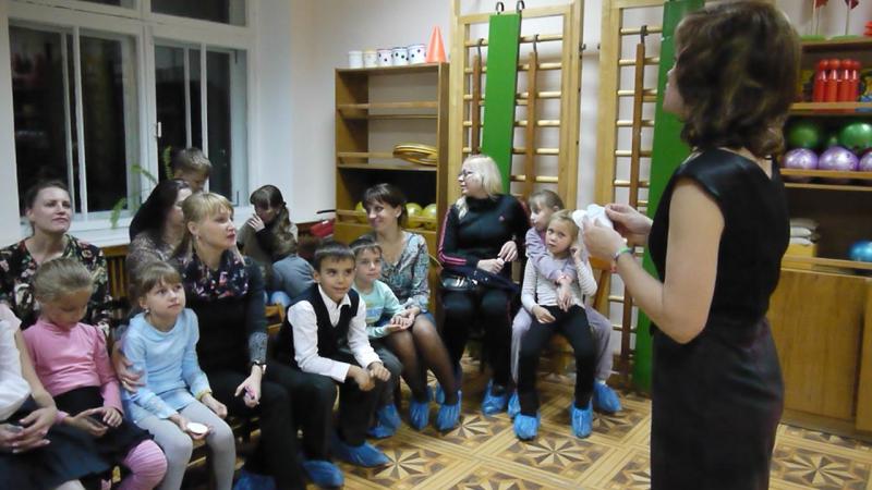 Встреча первоклашек в д/с №38 Рябинушка г.Й-Олы. 2016год