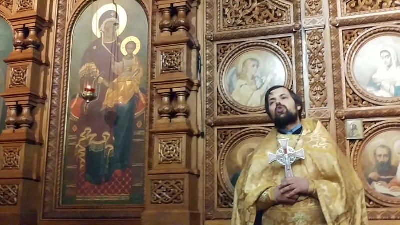 17 декабря - воскресная проповедь о.Сергия Чекоданова