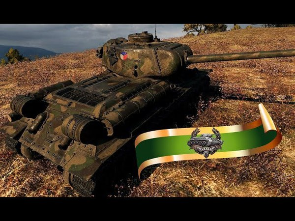 Средний танк Konstrukta Т-34/100: Борт Семь Пять готов нагибать. World of Tanks.