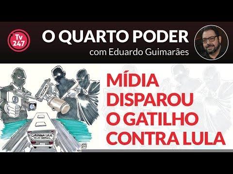 O Quarto Poder – Mídia disparou o gatilho contra a caravana de Lula?