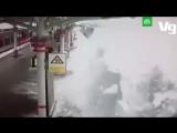 Снегопад на МЦК