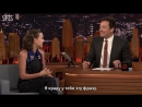 RUS SUB Millie Bobby Brown Is Obsessed with the Kardashians Special Language