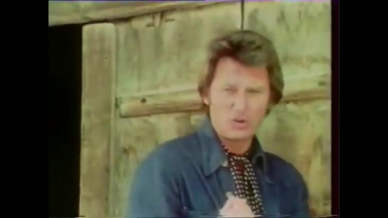 Johnny Hallyday - Les chiens de paille -TF1 (14.03.1976)