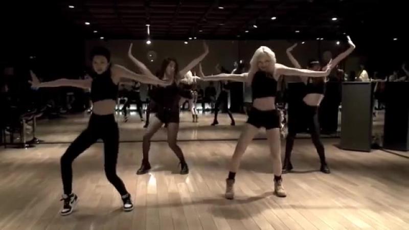 BLACK PINK - Dance Practice mirrored