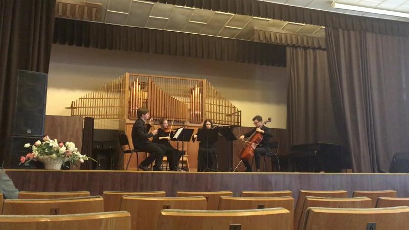 Samuel Barber. String quartet op.11 2nd mvt.