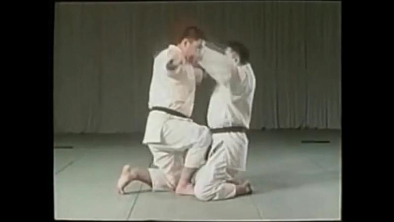 Ju Jutsu.Секигучи Син Син Рю Дзю Дзюцу.Базовая техника - 3.