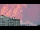 Извержение вулкана Кальбуко в Чили.