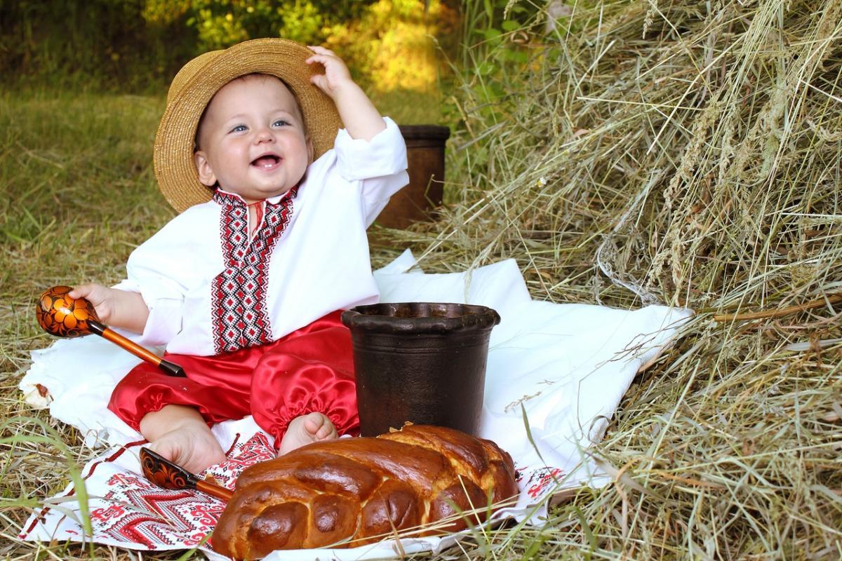 Славянские Дети — это самое настоящее солнце! (10 фоток)