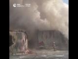 Пожар в Новосибирской области
