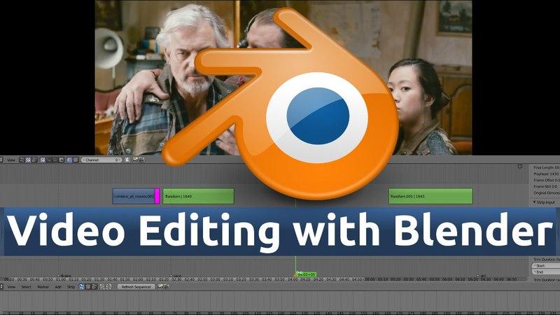 27 - Blender Video Editing (Super Fast Video Rendering with Render Script.)