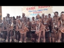 Chobe Junior Secondary School traditional troupe