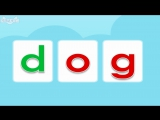 Word Families 8- The Dog and the Log - Level 1 - By Little Fox