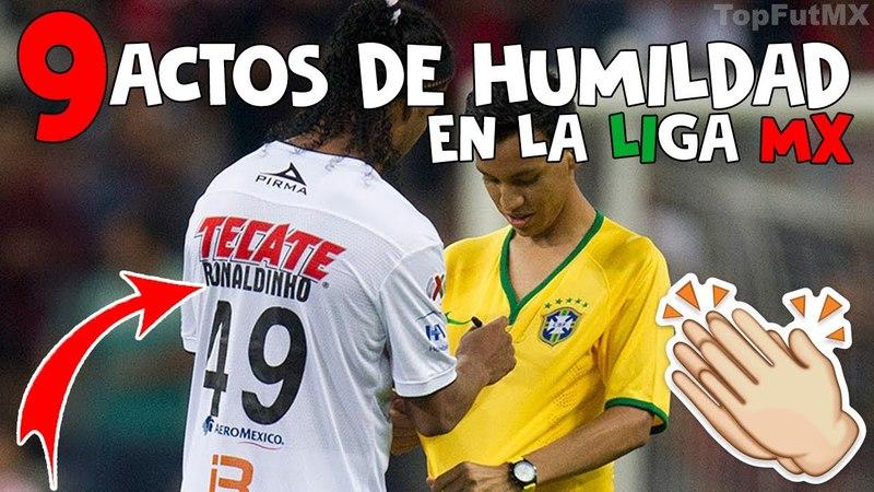 9 MOMENTOS De HUMILD4D HECH0S Por FUTBOLISTAS De La LIGA MEXICANA | TopFutMX