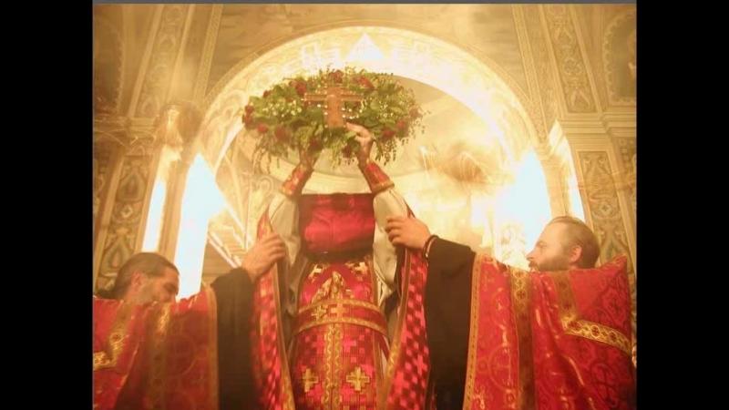 Свято-Троицкий Ионинский монастырь, Крестопоклонная Литургия Св.Василия Великого2018-03-11