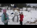Попытка слепить снеговика №2