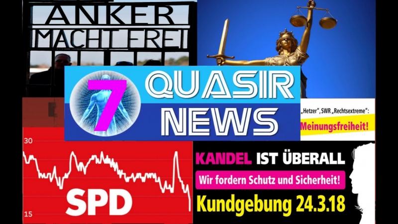 Morddrohungen, Anal-Tifa, Widerstand, Kandel, Justizia in Nöten, TTA, uvm!