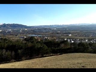 Кисловодск. Вид с горы Кольцо